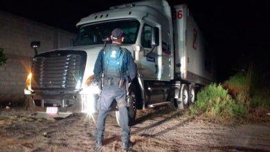 Photo of Recuperan camión robado en operativo en el triángulo rojo