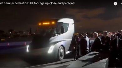 Photo of Video: Mira cómo el nuevo camión de Tesla llega a 100 km/h en 5 segundos
