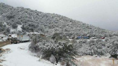 Photo of Cierran circulación en tramo carretero Agua Prieta-Janos por nevada