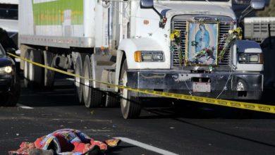 Photo of Van 11 peregrinos muertos en choque de camión en la México-Puebla