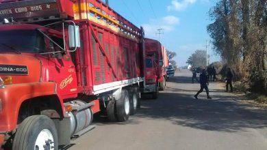 Photo of Recuperan dos camiones que usaban Huachicoleros