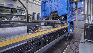 Photo of Este es eActros, el camión eléctrico de Daimler con auto aim de 200 kms
