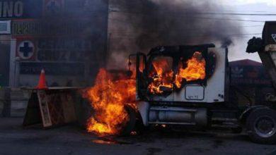 Photo of Grupo armado quema camiones que dan servicio a nuevo aeropuerto