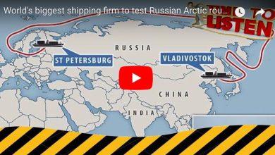 Photo of (Video) Maersk hace su primer operación por la ruta ártica
