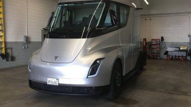 Photo of El Tesla Semi podría tener un sistema de inflado de neumáticos automático