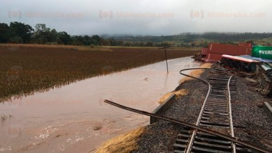 Photo of Kansas City Southern evalúa daños tras descarrilamiento de tren en Michoacán