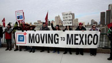 Photo of Sindicato de trabajadores de autos en Canada, se manifiestan en contra de planta de GM en México