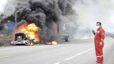 Photo of Se incendia Full en carretera de Tamaulipas