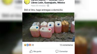 Photo of Mercado Negro ante el desabasto, venden gasolina en Facebook hasta en 60 pesos litro puesto en casa