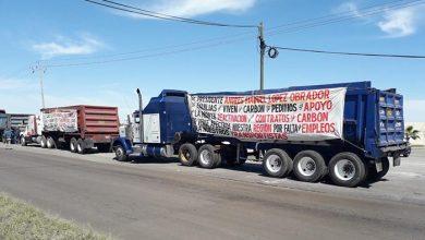 Photo of Transportistas de carbón se manifiestan en Coahuila