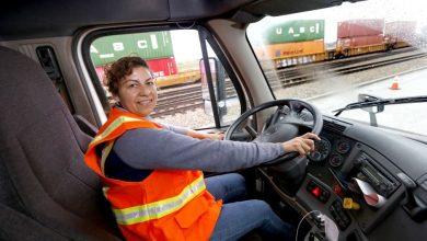 Photo of Mujeres al volante… de camiones en Norteamérica