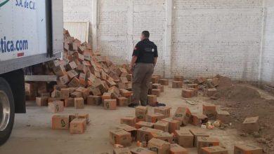 Photo of Recuperan camión robado en León con abarrotes