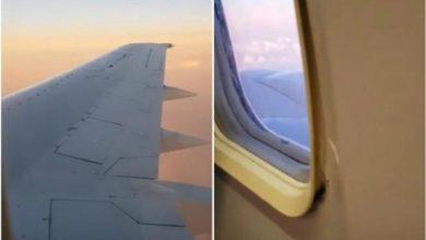 Photo of Pasajero sube a Facebook un Video de ventanilla rota en avión en vuelo