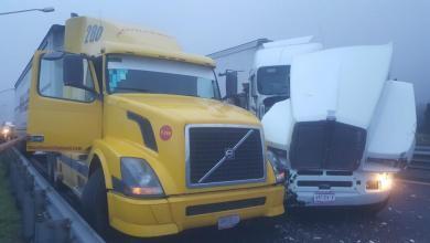 Photo of Choque de camiones ocasiona cierre de la Puebla-Orizaba