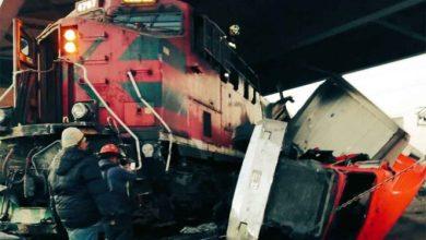 Photo of Tren destroza tráiler al impactarlo en Avenida Central