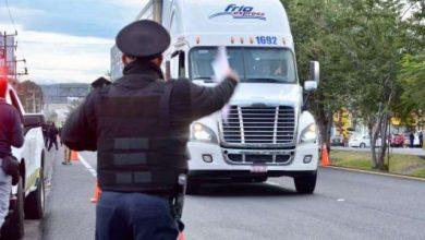 "Photo of Policía Vial de Guadalajara ""apercibe"" a transportistas de carga para no circular de 6 a 9 am"