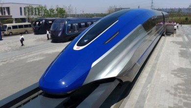 Photo of Este es Maglev, el tren chino que viaja por levitación magnética a 600 kms/ hr
