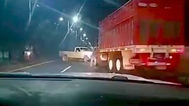 Photo of (Video) Así se roban transporte de carga en Texcoco