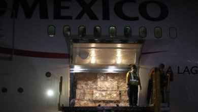 Photo of Llega cuarto vuelo con material para combatir Coronavirus