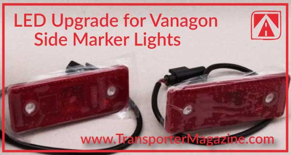 Vanagon upgrade to LED lights for your side marker lamps.