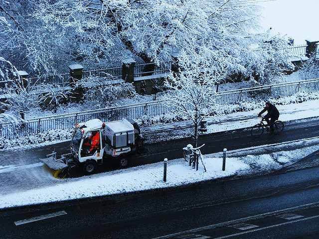 Bike Lane Snowplough