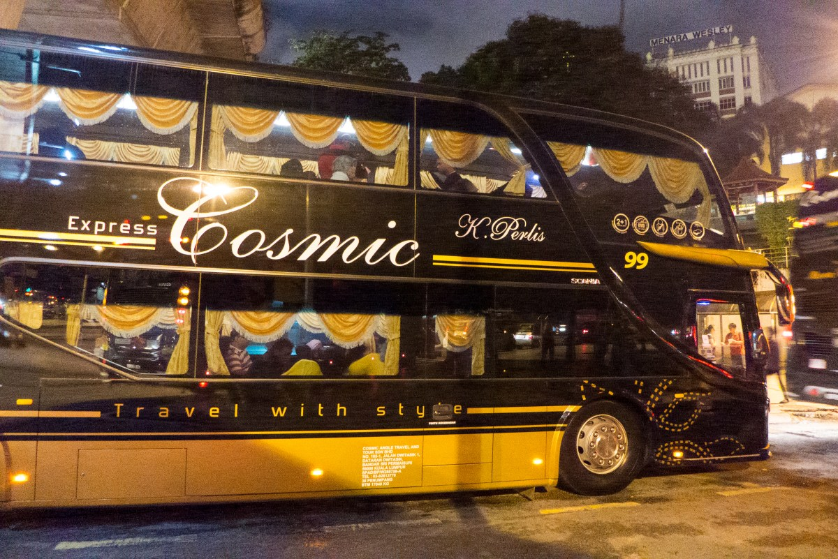 Cosmic Express Bus - November 2014