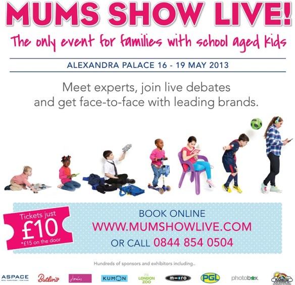 Mums Show Live Campaign