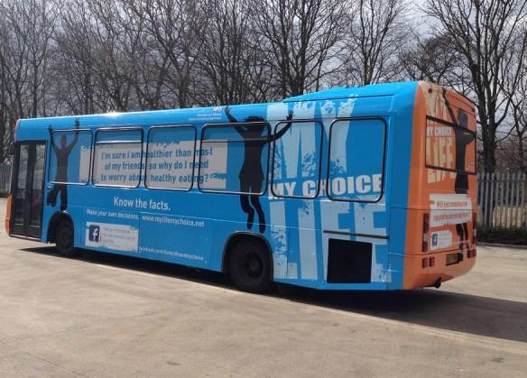 Bus Advertising - Tameside NHS