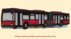 DPB02-Badge London General Mercedes-Benz Bendy Bus