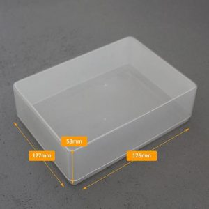 A6 clear boxes