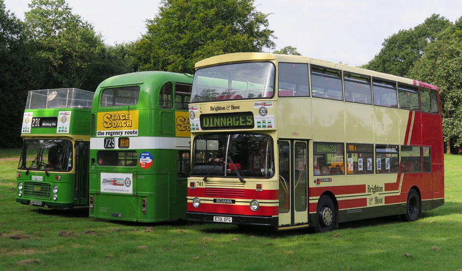 Brighton Bus Preservation Society 4th August 2019
