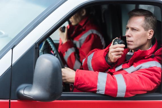 Le métier de l'ambulancier