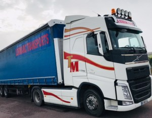 transport bache 57 europe