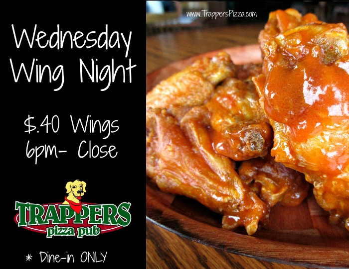 Trappers Wing Night