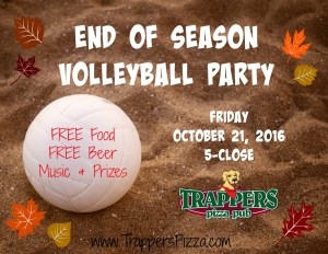 Fall Volleyball Party