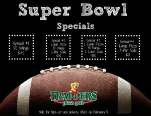 Super Bowl 2017 Specials