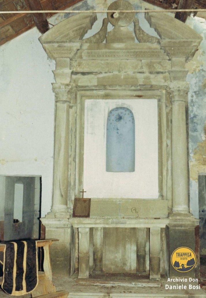 1967 - Altare del 1700 abbandonato a Rio Petroso