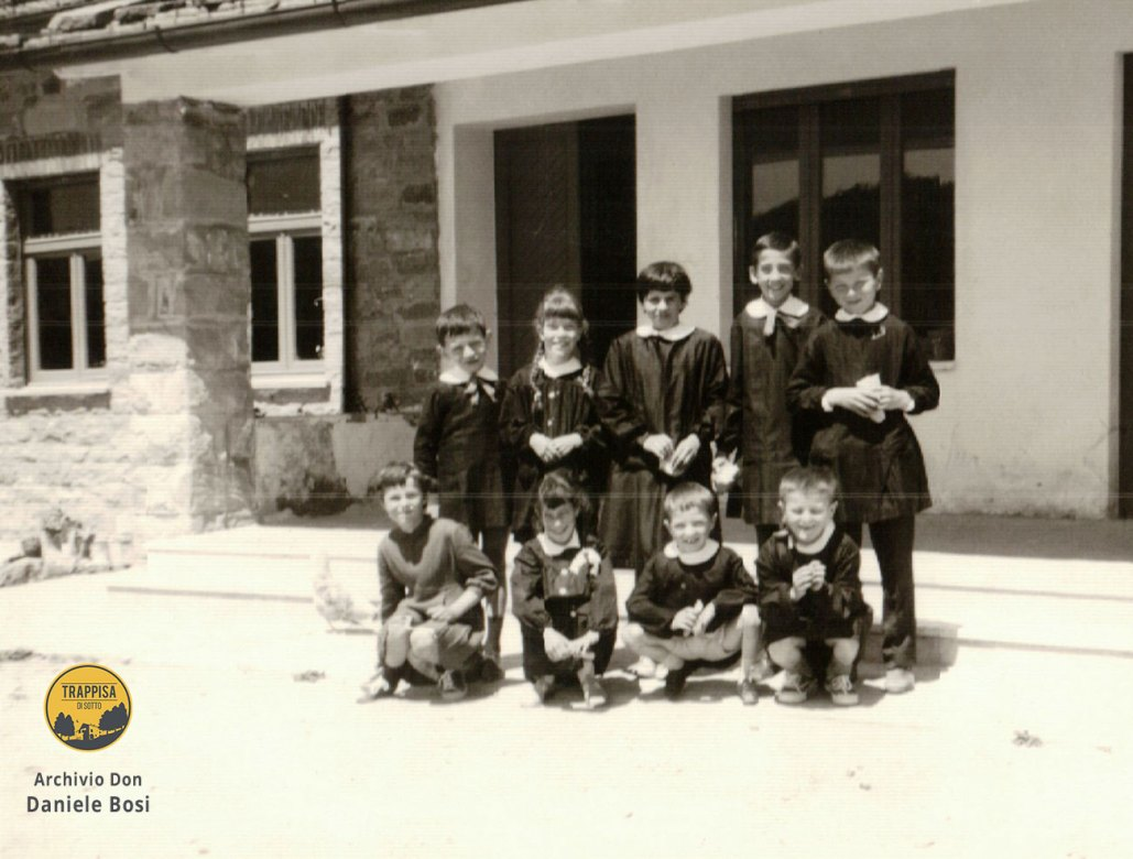 1964 - Gli ultimi alunni di Casanova dell'Alpe