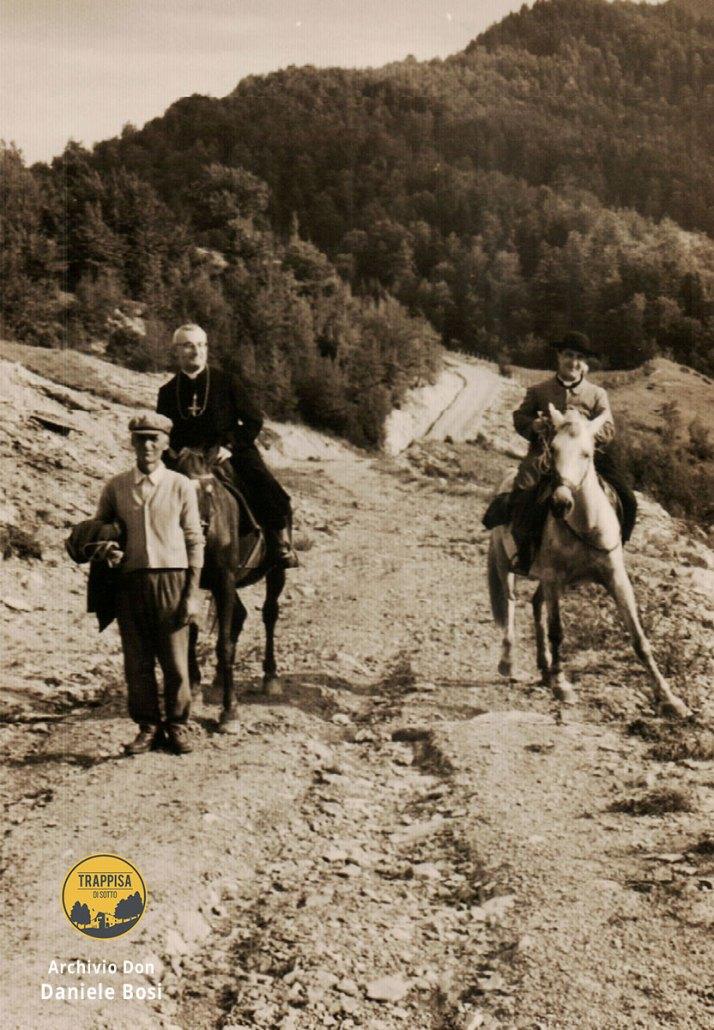 1965 - Visita del vescovo mons. Abele Conigli Casanova dell'Alpe