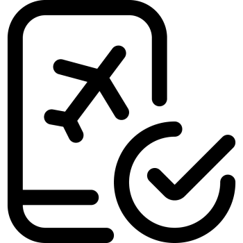 Complexity of international travel - airline processes
