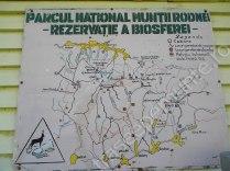 Harta Muntii Rodnei. Traseu pe Varful Pietrosul