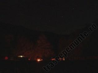 Noaptea camping Valea Beiului