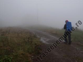 Echipament ploaie pe munte