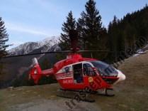 Elicopter SMURD pe munte
