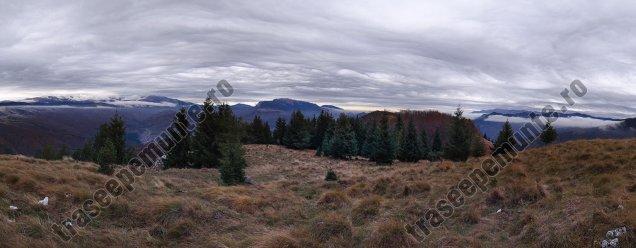 Panorama - Varful Piatra Dragoslavele