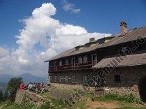 Cabana Fantanele - Muntii Ceahlau - terasa