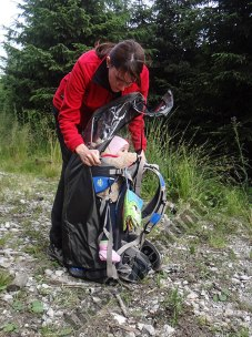 Rucsac transport copii pe munte