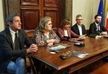 Luci sul Trasimeno Conferenza Stampa - Sembolini, Caproni, Tesei, Cecchetti e Burico 2