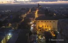 Luci sul Trasimeno - Vista Castiglione (foto Maurizio Censini)
