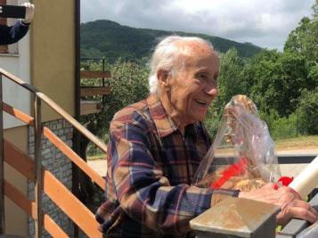 100 anni aldo serafini anniversario centenario compleanno Riccardo Bardelli cronaca paciano